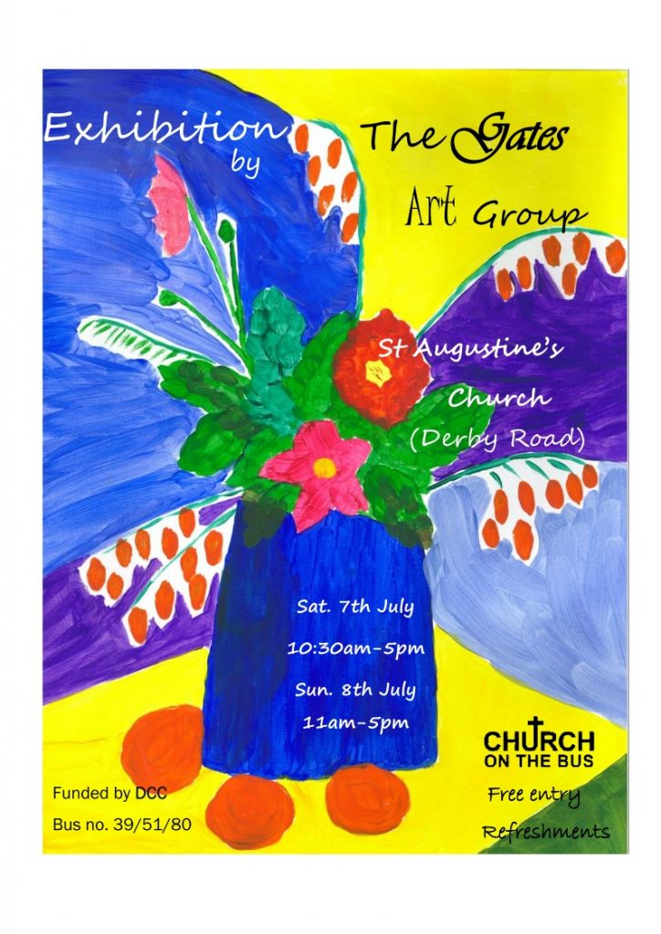 The Gates Art Group are holding an Exhibition on 5th July 2018
