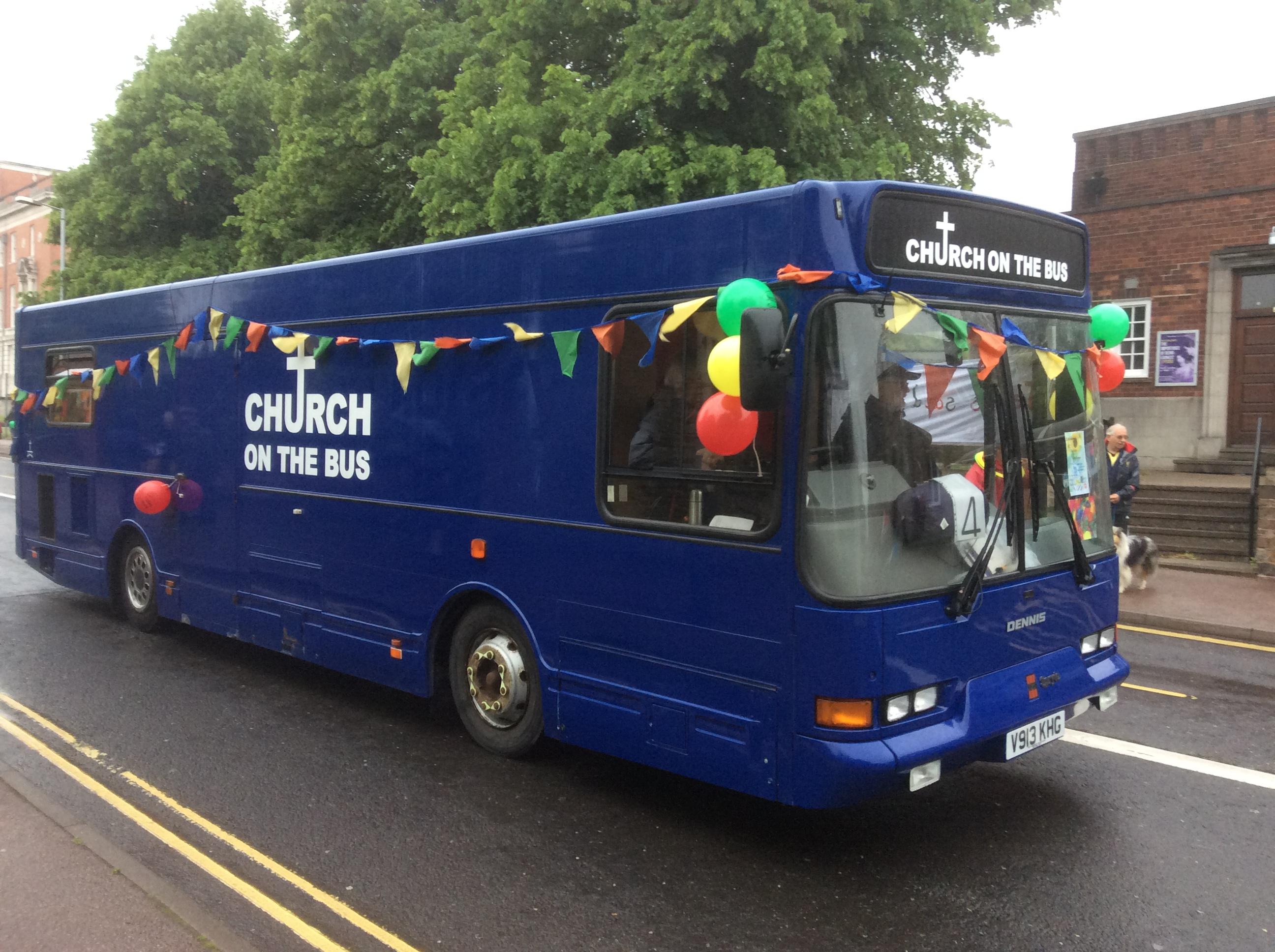 Our Bus looking very maart