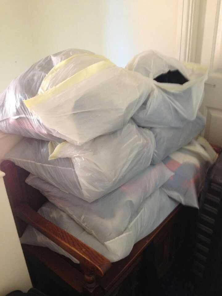 Clothing donated by the sister of a Chesterfield WI member