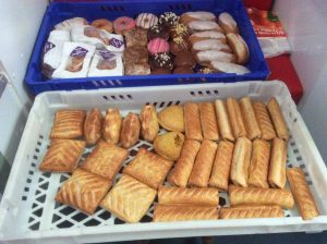 Food donated by Greggs