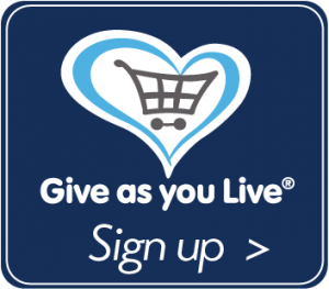 Sign up to Give as you Live